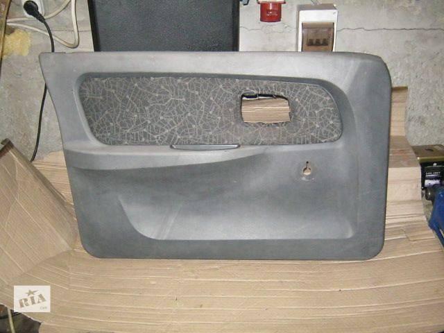бу Б/у Двери/багажник и компоненты Карта двери Легковой ЗАЗ Славута 2005 в Житомире
