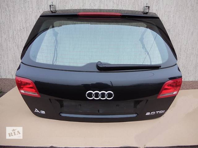 купить бу б/у Двери/багажник и компоненты Крышка багажника Audi A3 в Одессе