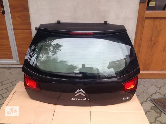 продам б/у Двери/багажник и компоненты Крышка багажника Citroen C3 бу в Одессе
