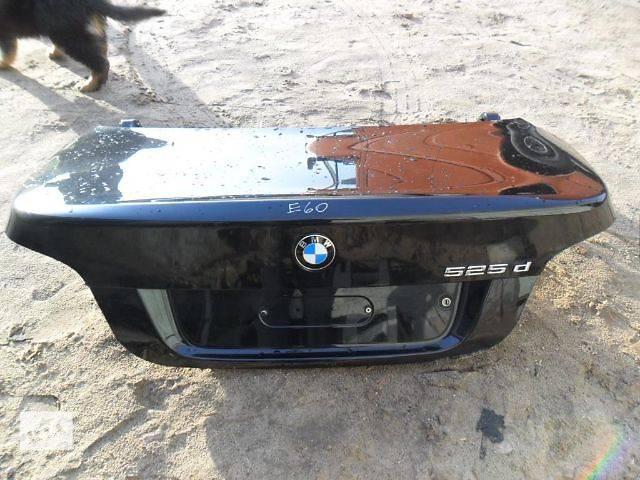 купить бу б/у Двери/багажник и компоненты Крышка багажника Легковой BMW 5 Series Седан в Старом Самборе