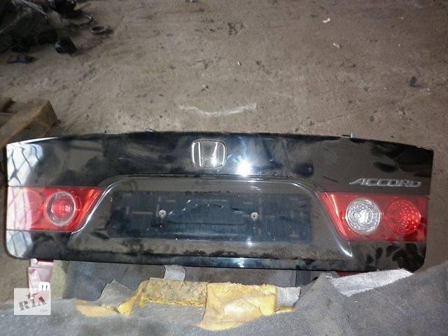 купить бу б/у Двери/багажник и компоненты Крышка багажника Легковой Honda Accord Седан 2007 в Луцке
