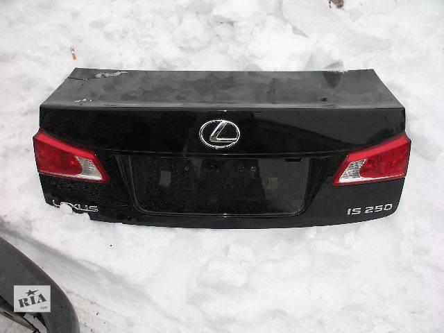 купить бу б/у Двери/багажник и компоненты Крышка багажника Легковой Lexus IS 2007 в Луцке