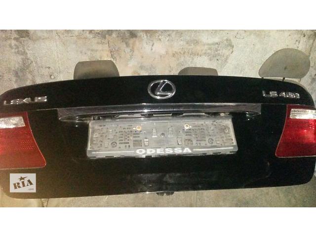 купить бу б/у Двери/багажник и компоненты Крышка багажника Легковой Lexus LS 460 Седан 2007 в Киеве