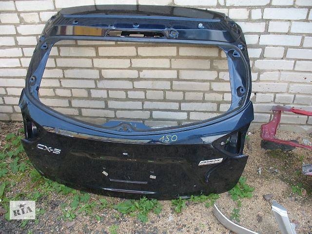 купить бу б/у Двери/багажник и компоненты Крышка багажника Легковой Mazda CX-5 в Луцке