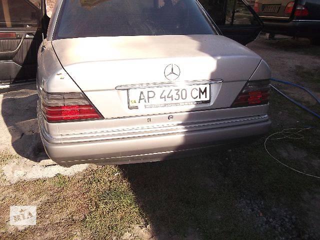 б/у Двери/багажник и компоненты Крышка багажника Легковой Mercedes 124 Седан 1994- объявление о продаже  в Днепре (Днепропетровск)
