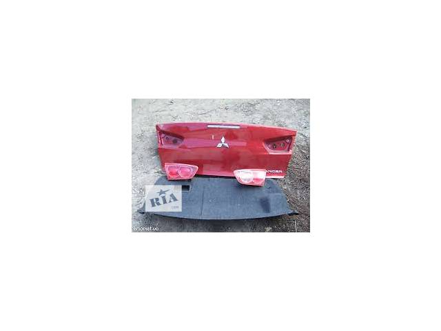 бу б/у Двери/багажник и компоненты Крышка багажника Легковой Mitsubishi Lancer X 2008 в Киеве