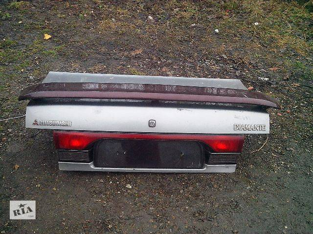 бу б/у Двери/багажник и компоненты Крышка багажника Легковой Mitsubishi Sigma в Черновцах