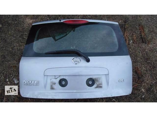 бу б/у Двери/багажник и компоненты Крышка багажника Легковой Nissan Note 2006 в Ковеле