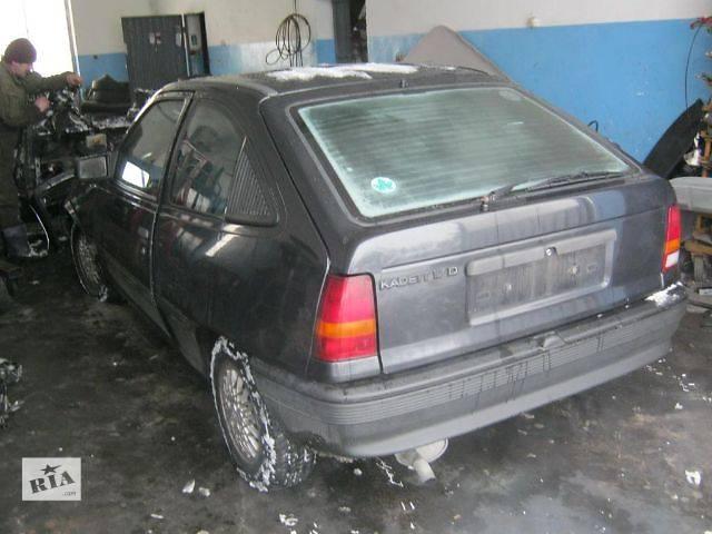 бу б/у Двери/багажник и компоненты Крышка багажника Легковой Opel Kadett Хэтчбек 1990 в Владимир-Волынском