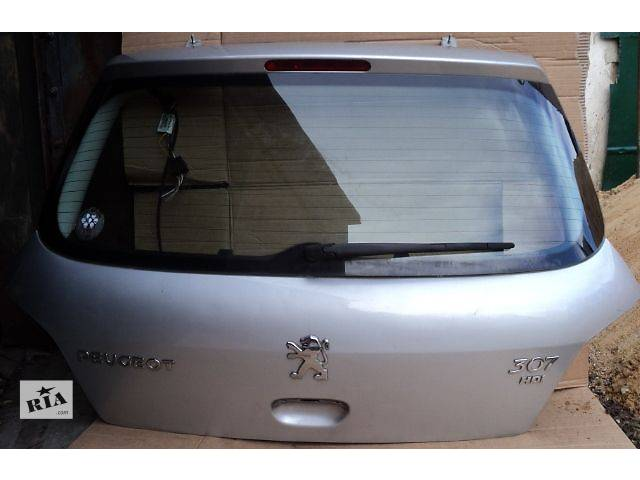 бу Б/у Двери/багажник и компоненты Крышка багажника Легковой Peugeot 307 2002 в Ковеле