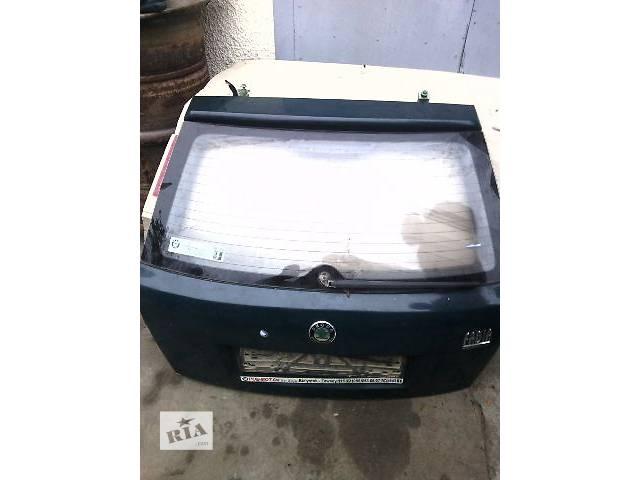 продам б/у Двери/багажник и компоненты Крышка багажника Легковой Skoda Fabia бу в Ковеле