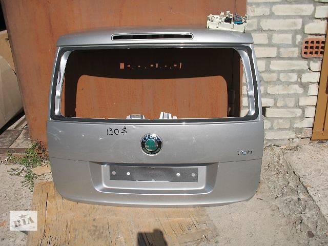 купить бу б/у Двери/багажник и компоненты Крышка багажника Легковой Skoda Yeti в Луцке