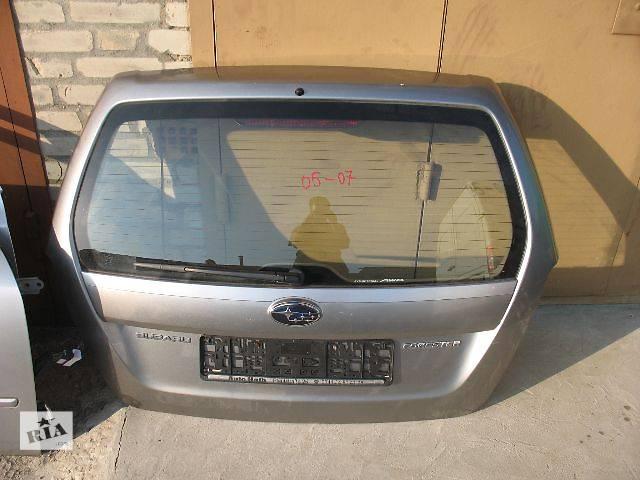 купить бу б/у Двери/багажник и компоненты Крышка багажника Легковой Subaru Forester 2006 в Луцке