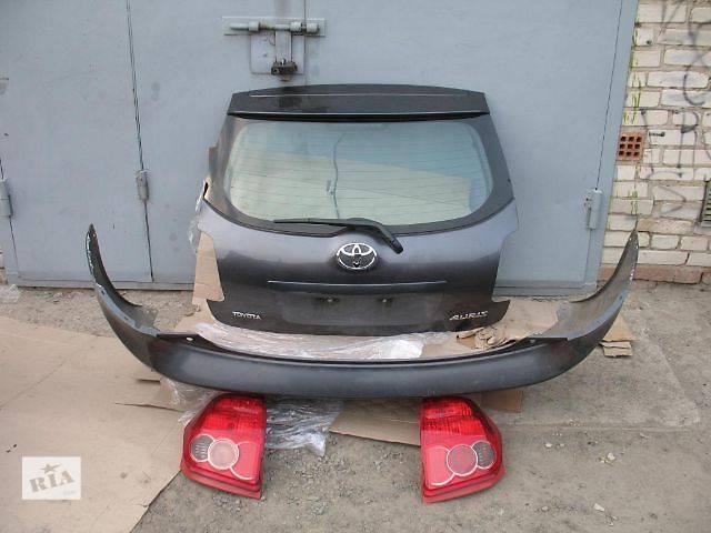 купить бу б/у Двери/багажник и компоненты Крышка багажника Легковой Toyota Auris 2008 в Луцке