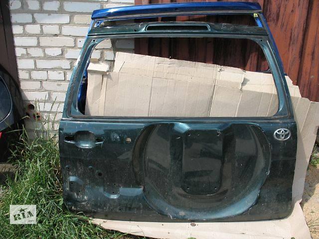 купить бу б/у Двери/багажник и компоненты Крышка багажника Легковой Toyota Land Cruiser Prado 120 в Луцке