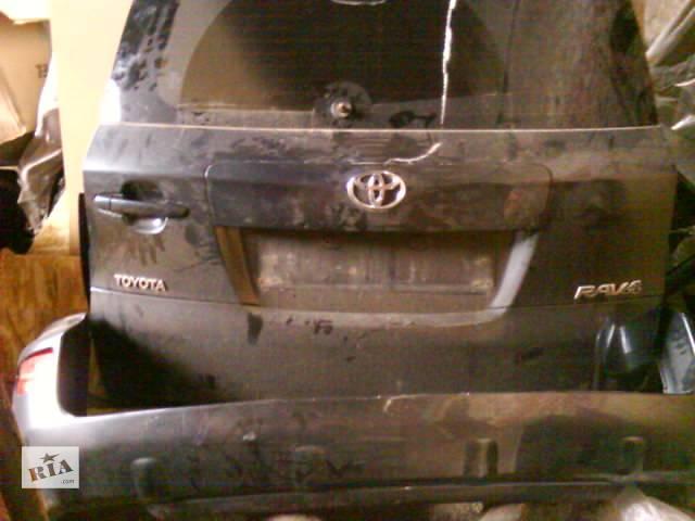 купить бу Б/у крышка багажника для легкового авто Toyota Rav 4 2010 в Львове