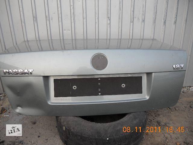 продам б/у Двери/багажник и компоненты Крышка багажника Легковой Volkswagen B5 Седан 2004 бу в Киеве