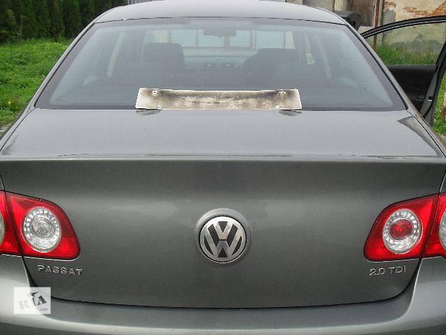 б/у Двери/багажник и компоненты Крышка багажника Легковой Volkswagen B6 Седан 2007- объявление о продаже  в Пустомытах