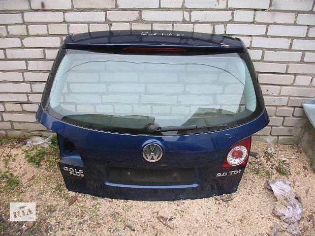бу б/у Двери/багажник и компоненты Крышка багажника Легковой Volkswagen Golf Plus в Луцке