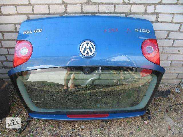 купить бу б/у Двери/багажник и компоненты Крышка багажника Легковой Volkswagen Golf V в Луцке
