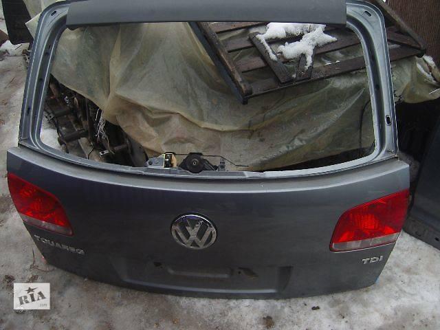 бу б/у Двери/багажник и компоненты Крышка багажника Легковой Volkswagen Touareg в Виннице