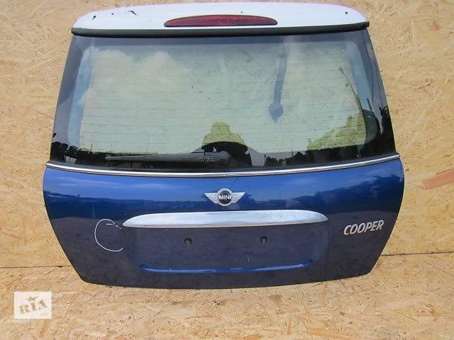 бу б/у Двери/багажник и компоненты Крышка багажника Mini Cooper в Одессе