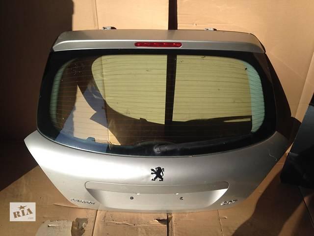продам б/у Двери/багажник и компоненты Крышка багажника Peugeot 207 бу в Одессе