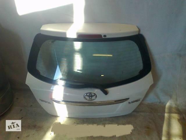 бу б/у Двери/багажник и компоненты Крышка багажника Toyota Yaris в Одессе