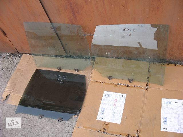 бу б/у Двери/багажник и компоненты Стекло двери Легковое авто Nissan Note в Луцке