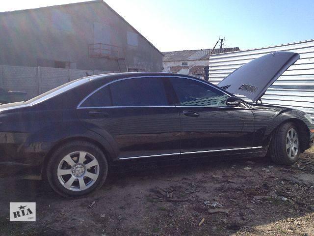 бу Б/у Двери/багажник и компоненты Стекло двери Легковой Mercedes S-Class 2008 в Львове