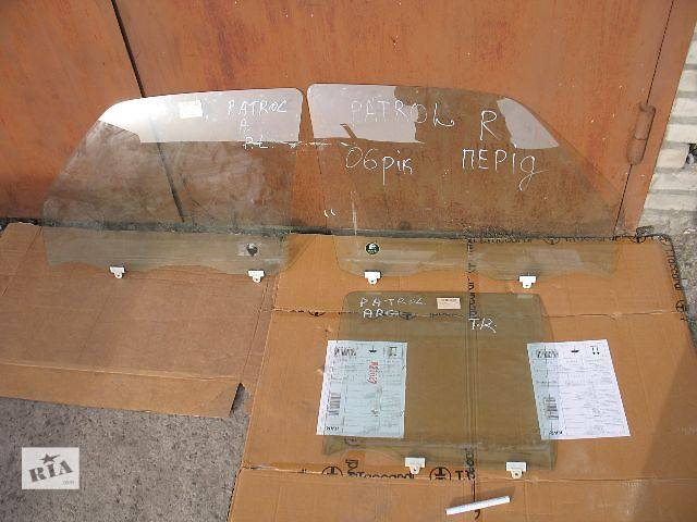 купить бу б/у Двери/багажник и компоненты Стекло двери Легковой Nissan Patrol 2005 в Луцке