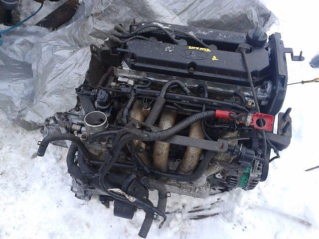 продам Б/у Двигатель *A6D* KIA Sephia 2 1.6i DOHC 16 клап. 2001~2004 Гарантия Установка Доставка по Киеву и Украине бу в Киеве