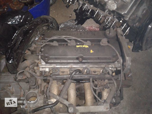 продам Б/у Двигатель *B6D* KIA Shuma 2 1.6i DOHC 16 клап. 2001~2004 Гарантия Установка Доставка по Киеву и Украине бу в Киеве