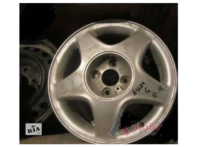 купить бу Б/у диск для легкового авто Opel Astra G в Киеве