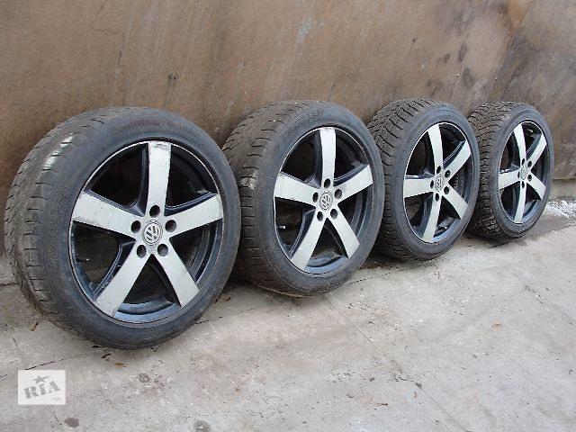 бу Б/у диск для легкового авто Volkswagen B6 CADDY GOLF 5 R17 В НАЯВНОСТІ!!!! в Львове