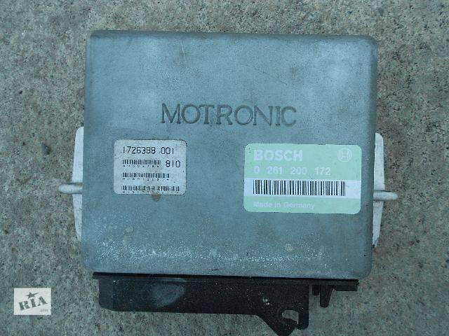 купить бу Б/у Електрообладнання двигуна Блок управління двигуном Легковий BMW 520 1988 в Чопе