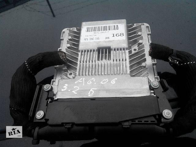 купить бу Б/у Электрооборудование двигателя Блок управления двигателем 4f0910115Легковой Audi A6 2006 в Львове