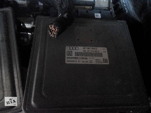 б/у Электрооборудование двигателя Блок управления двигателем 4f1907559d  audi a6 c6 3.2  2007 Легковой Audi A6 2006- объявление о продаже  в Львове