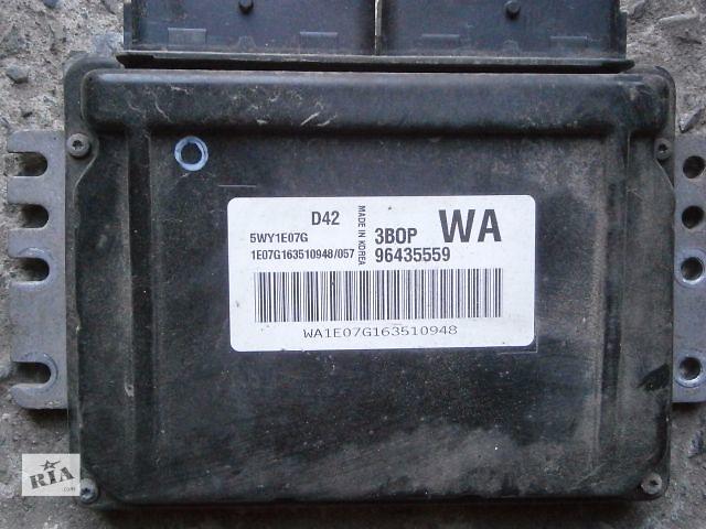 купить бу б/у Электрооборудование двигателя Блок управления двигателем Легковое авто Седан Chevrolet Aveo в Луцке