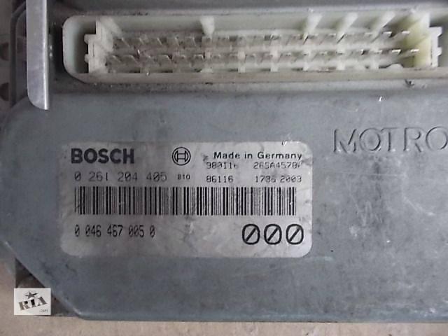 Б/у Электрооборудование двигателя Блок управления двигателем Легковой Fiat Brava 2000 0261204405- объявление о продаже  в Ровно