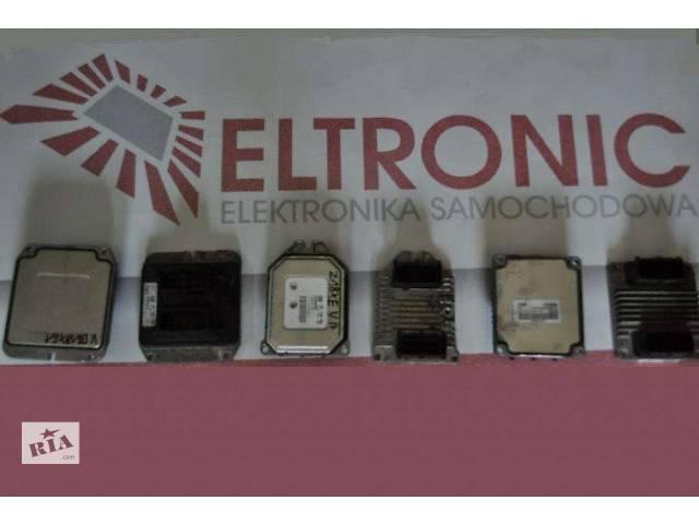 б/у Электрооборудование двигателя Блок управления двигателем Легковой Fiat Doblo- объявление о продаже  в Львове