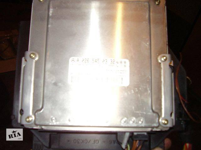 купить бу б/у Электрооборудование двигателя Блок управления двигателем Легковой Mercedes E-Class Седан 2001 в Черновцах