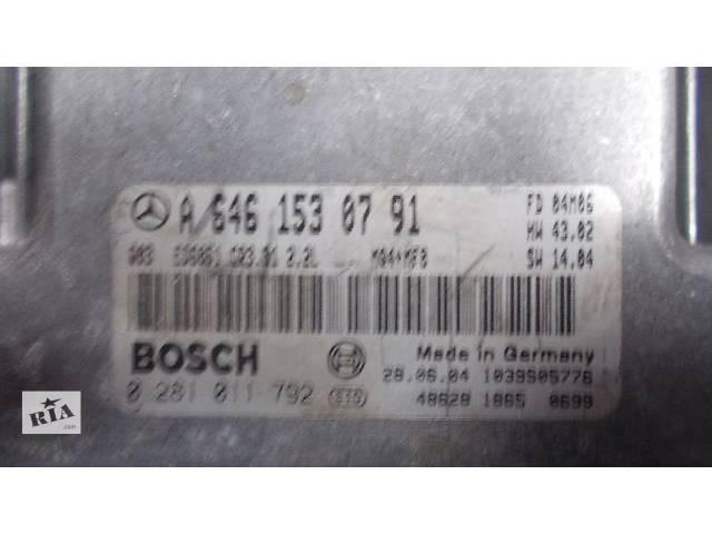 продам Б/у Блок управления двигателем Легковой Mercedes Vito 2003-2009 A6461530791 A6421500972 A6111534979 A6461533191 бу в Ровно