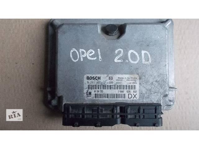 купить бу Б/у Электрооборудование двигателя Блок управления двигателем Легковой Opel Astra 1999 0281001971 в Ровно