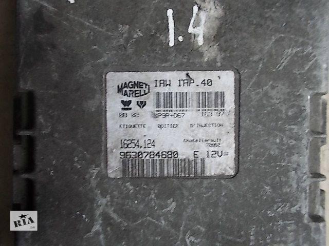 купить бу Б/у Электрооборудование двигателя Блок управления двигателем Легковой Peugeot 106 1999 9630784680 в Ровно