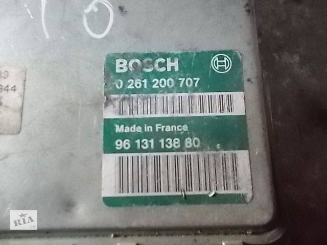 бу Б/у Электрооборудование двигателя Блок управления двигателем Легковой Peugeot 106 0261200707 в Ровно