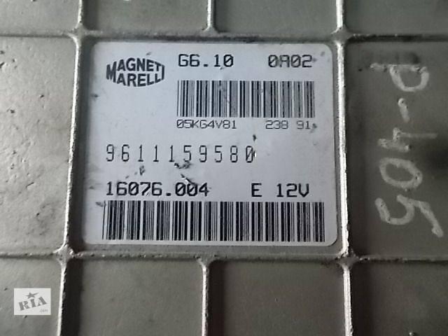 Б/у Электрооборудование двигателя Блок управления двигателем Легковой Peugeot 405 9611159580- объявление о продаже  в Ровно
