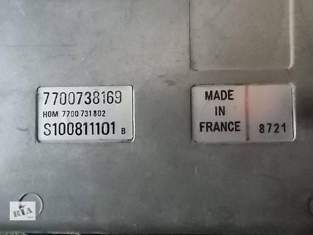 продам Б/у Электрооборудование двигателя Блок управления двигателем Легковой Renault 21 S100811101B S100812101E бу в Ровно