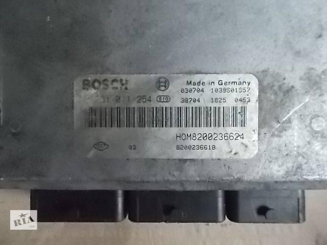 бу Б/у Электрооборудование двигателя Блок управления двигателем Легковой Renault Master пасс. 2003 0281011254 в Ровно
