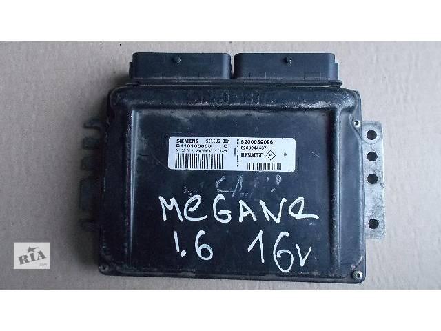 бу Б/у Электрооборудование двигателя Блок управления двигателем Легковой Renault Megane 1999-2004 8200059086 в Ровно
